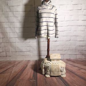 Madewell Roundtrip Striped Turtleneck Sweater